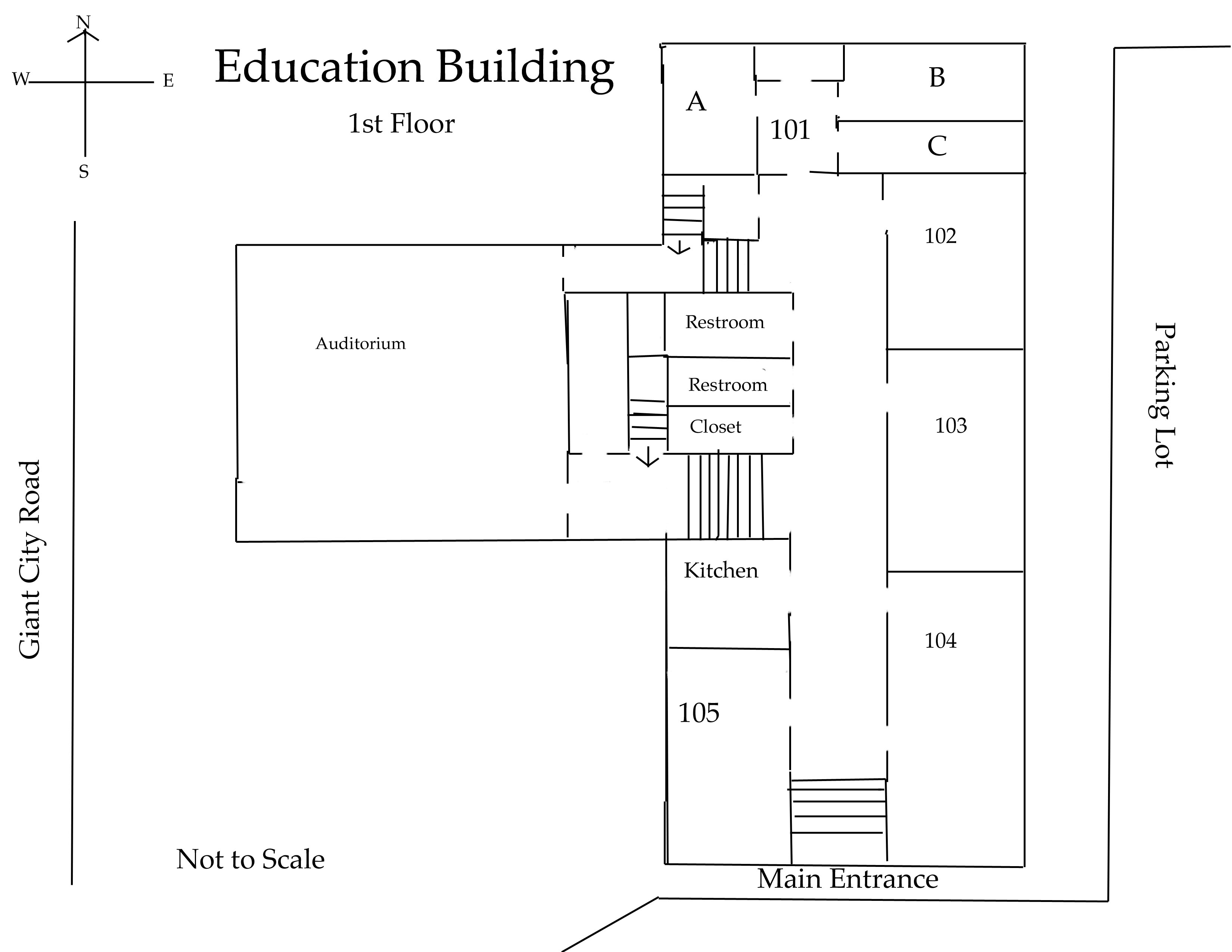 Education Building First Floor