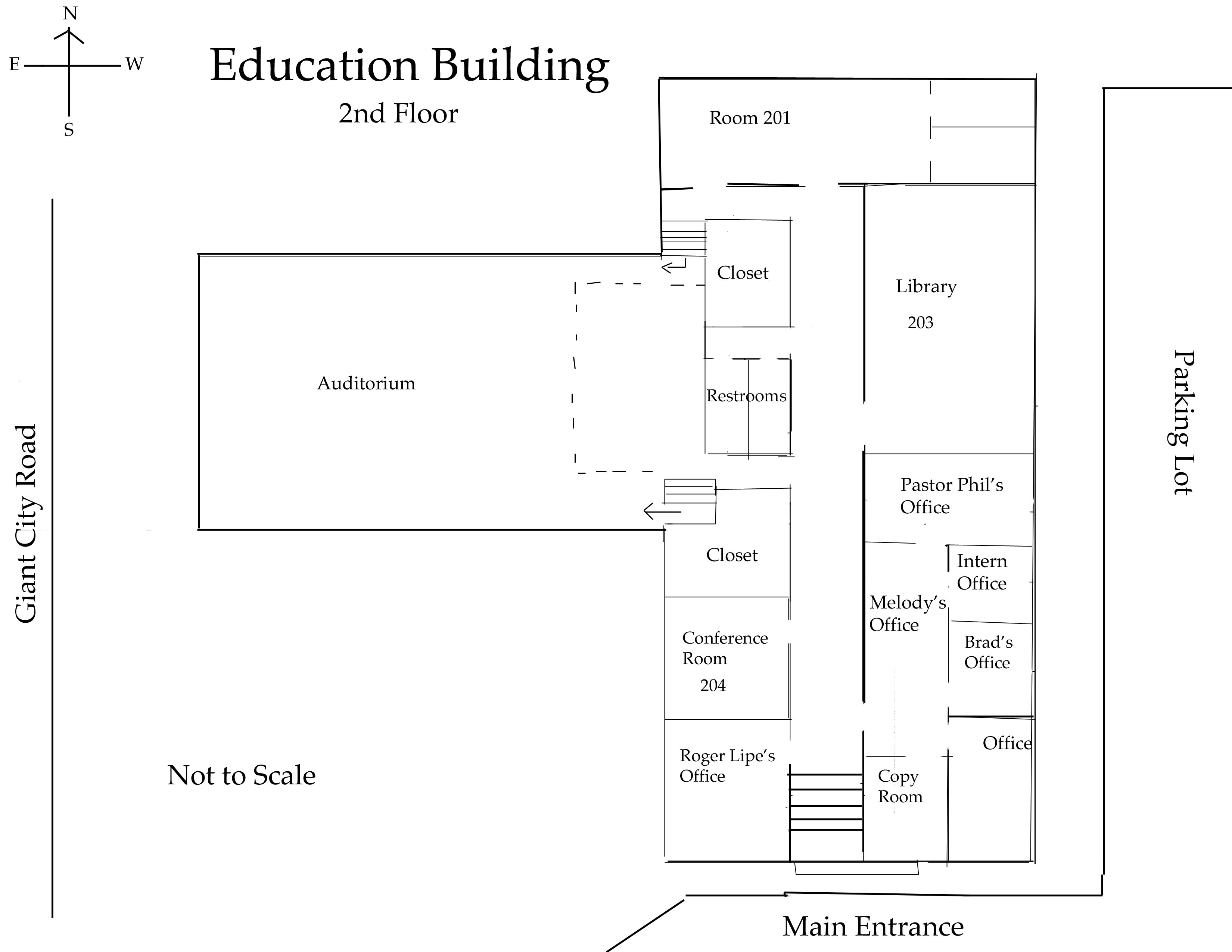 Education Building Second Floor