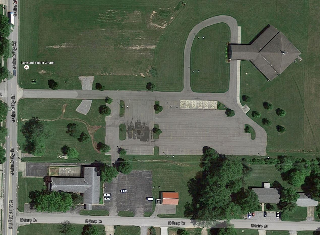 Satillite View of Church Campus