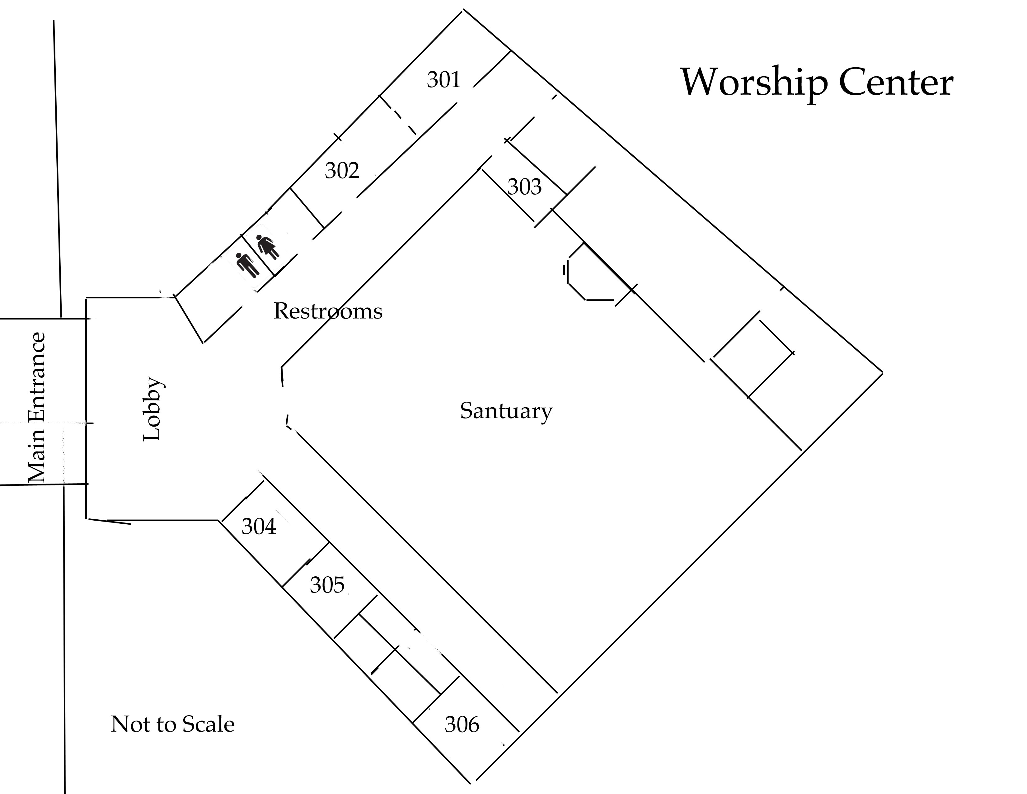 Worship Center Map